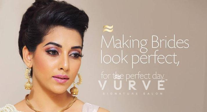 Exclusive offers on Bridal Makeup and Makeovers by Vurve Signature Salon in Chennai